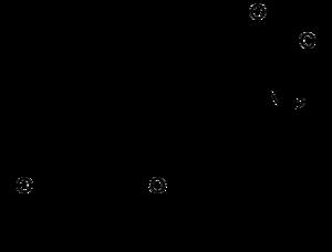 Структурная формула тироксина